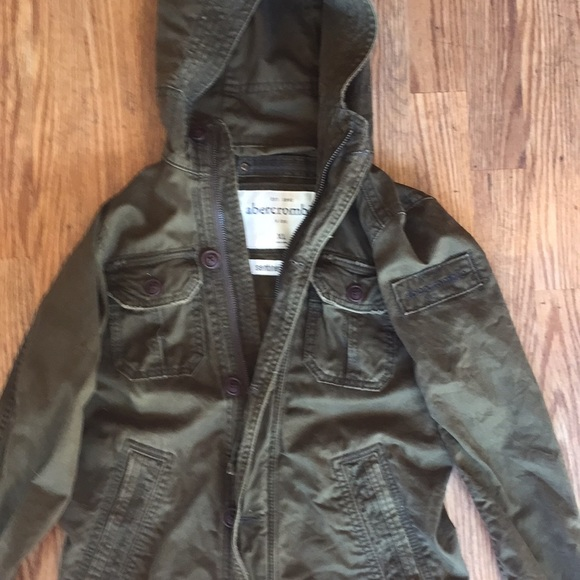Abercrombie Sentinel Jacket army green e292ef2d0